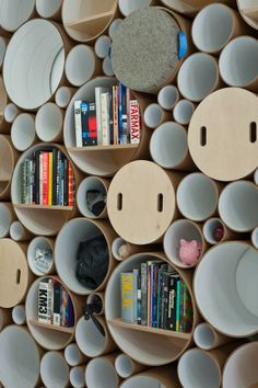 Circle Packed Wall by SOFTlab