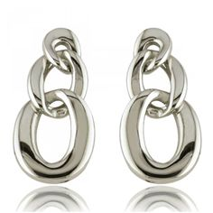 Maillon vista Earrings - Xc38 Chain Earrings, Trendy Fashion, Pure Products, Steel, Jewelry, Women, Ear Rings, Jewlery, Jewerly