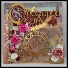 scrapbook layouts using once upon a time DCWV - Google Search