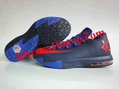 a03b166917f KD VI Navy Blue Red Kd 6 Shoes