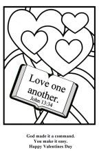 John 13:34 | Memory Verse coloring sheets | Pinterest ...