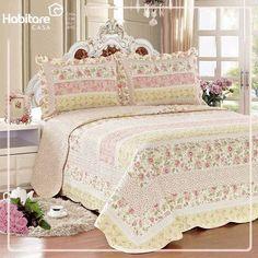 Uma cama de princesa.. Porque suas noites pedem muito conforto!
