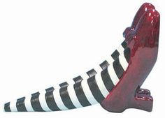 The Wizard of Oz Red Ruby Slippers Doorstop - Wicked Witch of the East by Westland Giftware,