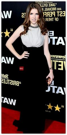 The actual Anna Kendrick Measurements are in the order of justifying the fact that slim and slender girls can definitely have a ter. Celebrity Measurements, Slender Girl, Anna Kendrick, Slim, Celebrities, Black, Girls, Dresses, Fashion