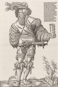 Artist: Deutsch, Hans Rudolf Manuel and Wyssenbach, Rudolf, Title: A Landsknecht…