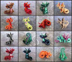 Scrap Dragons by DragonsAndBeasties.deviantart.com on @deviantART