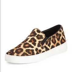 4b0d71478dd9 Michael Kors Cheetah Print Slip Ons Great condition! So cute! Michael Kors  Shoes Sneakers