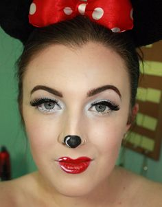 Minnie Mouse Halloween Makeup Tutorial