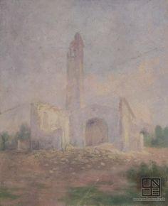 Dezider Czölder: Ruins of a church / Ruiny kostola (1901 - 1925)