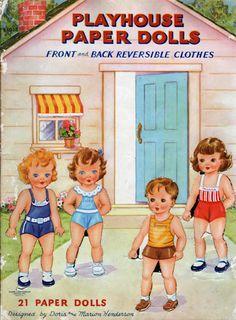 Paper Dolls~PlayHouse - Bonnie Jones - Picasa Web Albums