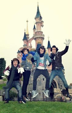 Union J in DisneyLand