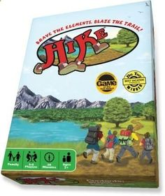 Hike Card Game - perfect for the family camp trip.
