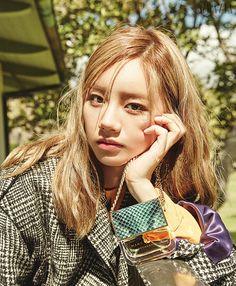 Hyeri (Girl's Day) - Grazia Magazine January Issue Lee Hyeri, Girl's Day Hyeri, Dramas, Blonde Asian, Grazia Magazine, Girl Sday, Korean Celebrities, Girl Crushes, Korean Beauty