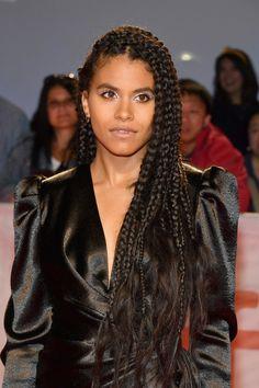 Black Girl Braided Hairstyles, Box Braids Hairstyles, Cool Hairstyles, Zoe Kravitz Braids, Curly Hair Styles, Natural Hair Styles, Zazie Beetz, Protective Hairstyles For Natural Hair, Box Braids Styling