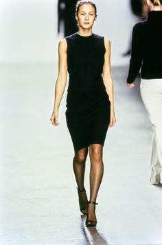Calvin Klein Collection Fall 1999 Ready-to-Wear Fashion Show - Natane Boudreau
