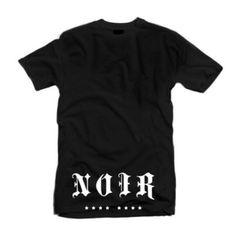 Rock this #DesRosiers NOIR Tee with a dope pair of #DxBrandNyc Shorts or #PopularDemand Sweat Pants www.houseoftreli.com