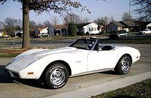 1975 Chevrolet Corvette Stingray Convertible