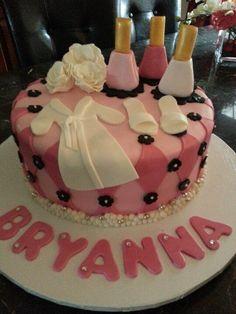 spa birthday cake ideas   repinned via laura conchacha