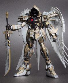 "Custom Build: MG 1/100 Wing Gundam Zero Custom ""Diablo Archangel Ver."" - Gundam Kits Collection News and Reviews"