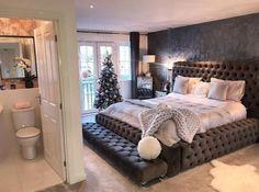 Such a modern bedroom design✨ Dream Rooms, Dream Bedroom, Home Bedroom, Bedroom Decor, Bedroom Ideas, Master Bedroom, Interior Design Living Room, Living Room Decor, Stylish Bedroom