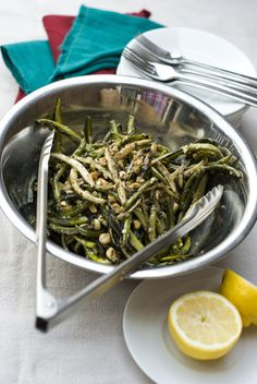 Baltimore Sun - 'From the Harvest' recipes grilled string beans