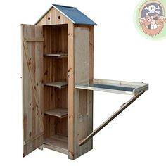 Garden Shed Exterior Ideas, Garden Tool Shed, Garden Storage Shed, Mini Shed, Garden Huts, Diy Terrasse, Small Room Decor, Cold Frame, Potting Sheds