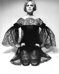 Brigitte Bardot, photo by David Bailey, 1967