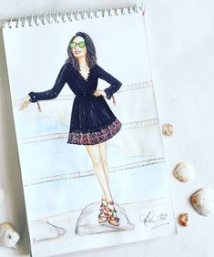 Fashion sketchbook ideas posts for 2019 Dress Design Drawing, Dress Design Sketches, Fashion Design Sketchbook, Fashion Design Drawings, Dress Drawing, Fashion Sketches, Dress Illustration, Fashion Illustration Dresses, Fashion Infographic