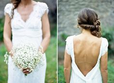 Love this bride's bouquet and hair - Ashton Jean-Pierre Photography