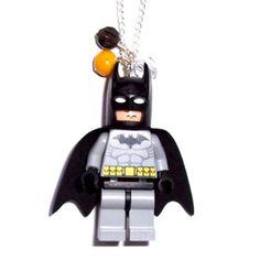 putting lego batman on a necklace