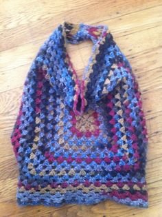 #Crochet Style Tip: Think Convertible for More Outfit Options  - granny halter
