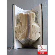 patron gratuit pour r aliser un livre pli coeur des p 39 tits trucs pinterest livres plies. Black Bedroom Furniture Sets. Home Design Ideas