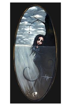 Temptress~Angelina Wrona Love her work. Anime Art Fantasy, Digital Art Gallery, Sketch Painting, Pop Surrealism, Art Forms, Framed Artwork, Find Art, Art Prints, Weird Things