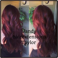 Hair extensions by Jandy hair extensions Taylor