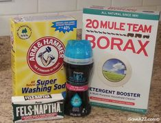 Homemade Laundry Detergent How To! So EASY!! AND...  you can make this for only 3¢ per load!!  iSaveA2Z.com