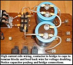 Picture of Power to Contactor Terminals