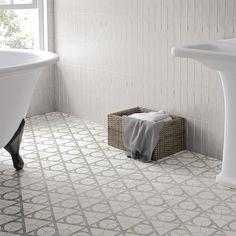 SomerTile 7x8-inch Carra Hexagon Flow Porcelain Floor and Wall Tile (35/Case, 11.41 sqft.)
