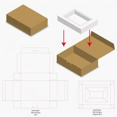 Cut box packaging design packaging template box die cut template box packaging box template cut Vectors, Photos and PSD files Soap Packaging, Packaging Design, Carton Diy, Modern Restaurant, Box Patterns, Happy Birthday Messages, Diy Box, Printing Labels, Box Design