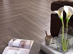 Ceramic Floor Wood Style Stock Photo (Edit Now) 500243656 Wood Tile Shower, Ceramic Floor Tiles, Tile Floor, Types Of Floor Tiles, Cheap Hardwood Floors, Laminate Flooring, Kitchen Flooring Options, Shower Tile Designs, Wood Look Tile