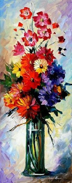 30 Afremov  BOUQUET O by Leonidafremov.deviantart.com on @deviantART