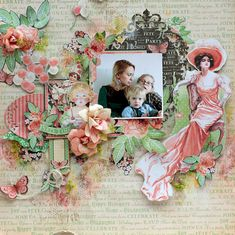 Time to Celebrate layout by Elena with tutorial! #graphic45