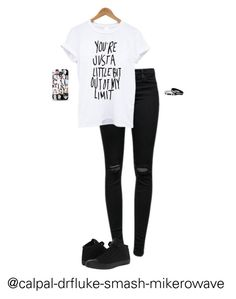 """SURPRISE SHOUT OUT!!!!"" by hanakdudley ❤ liked on Polyvore featuring J Brand, Samsung and Converse"