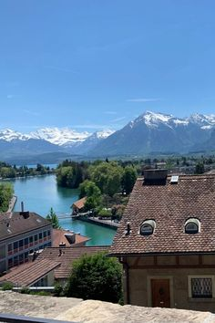 Lake Thun, Europe Destinations, Interior Exterior, Small Towns, Travel Around, Places To See, Switzerland, Travel Tips, Trips