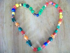 365 dagen hartjes: Kralen rijgen Diy Ideas, Beaded Bracelets, School, Kids, Jewelry, Children, Boys, Jewlery, Jewels
