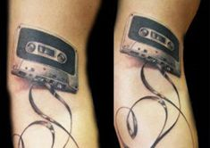 Cassette Tapes | Community Post: 26 Tattoos Your Kids Won't Understand