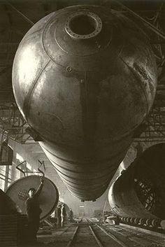Gas Holder | Photographer: Arkady Shaikhet 1938