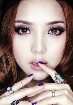 Blinc Mascara, Fiber Lash Mascara, Fiber Lashes, Korean Makeup Tutorials, Makeup Tricks, Pony Makeup, Prity Girl, Glass Skin, Rings