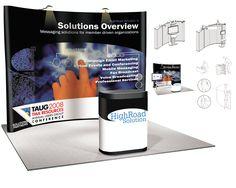 Desenvolvimento de adesivo para stand da empresa.