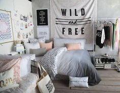quarto de menina adolescente estilo tumblr - Pesquisa Google