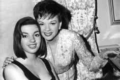 Judy Garland y Lisa Minnelli su hija